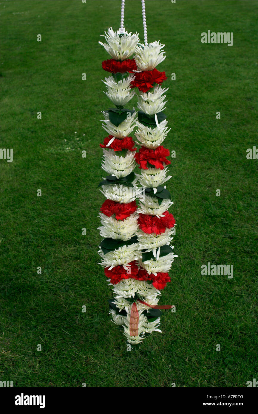 indian wedding flower garland stock photo 11827599 alamy