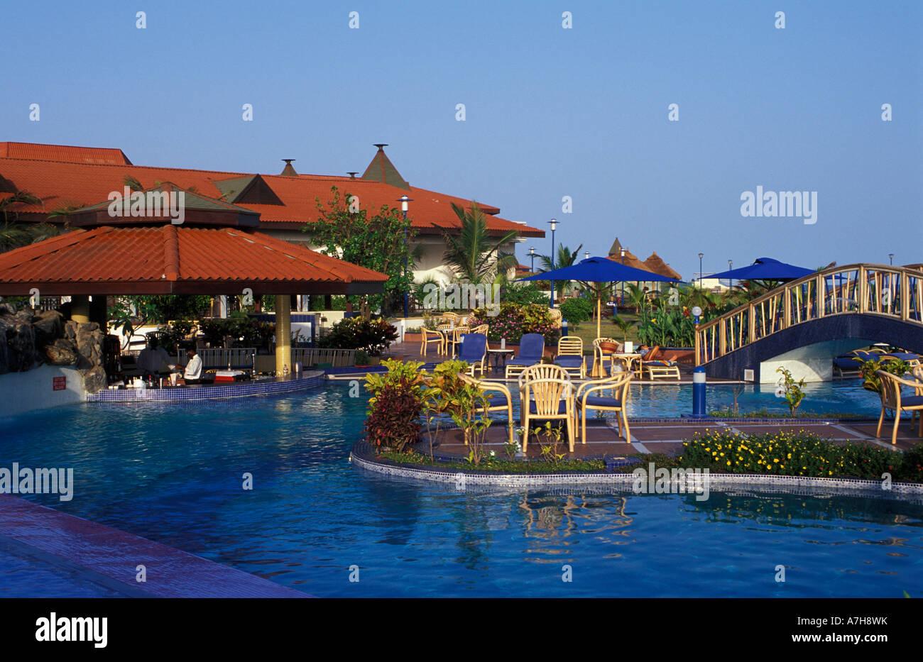 La Palm Royal Beach Hotel Swimming Pool Accra Ghana