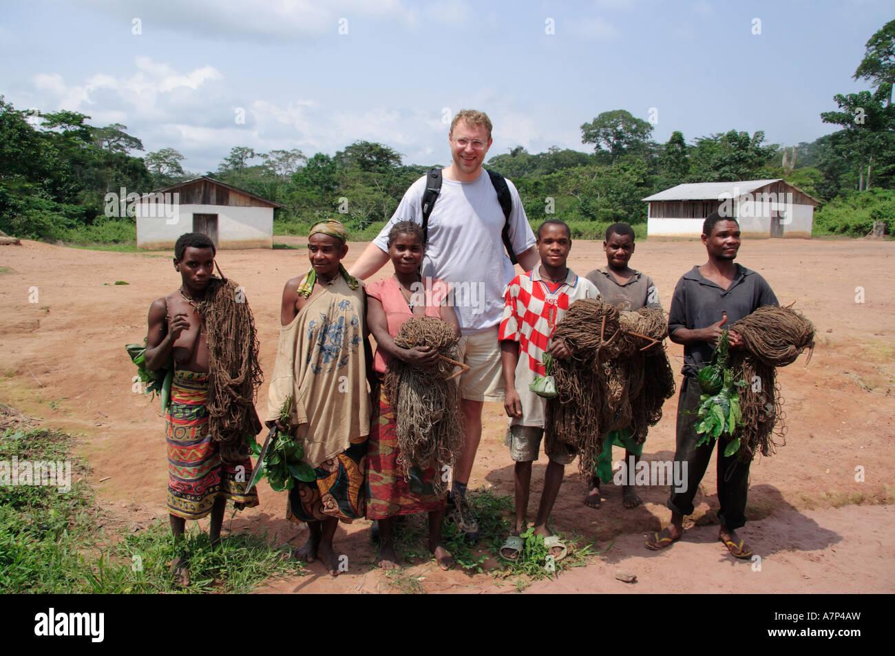 Baaka Pygmies SW Central African Republic