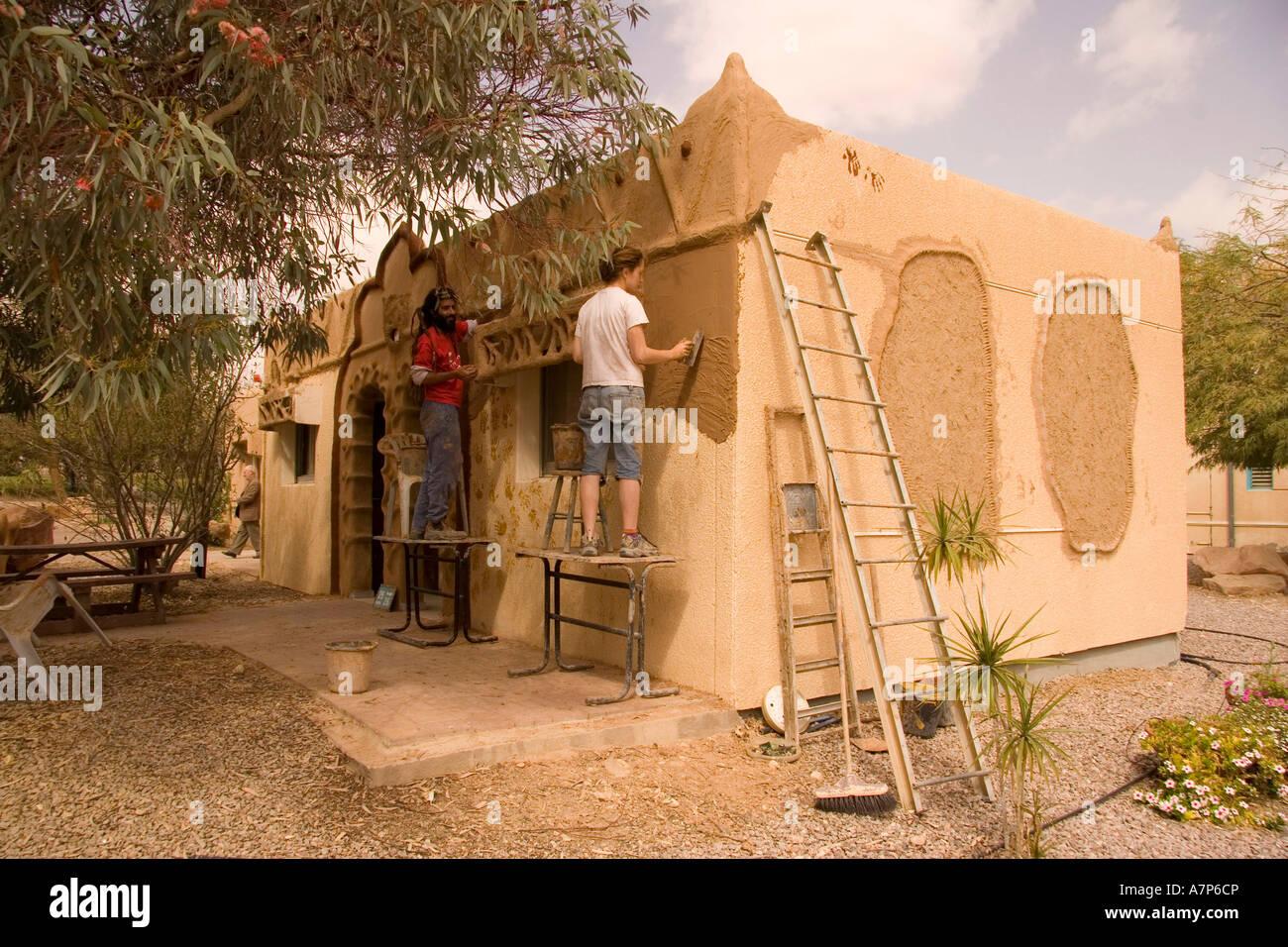 Diy mud brick house