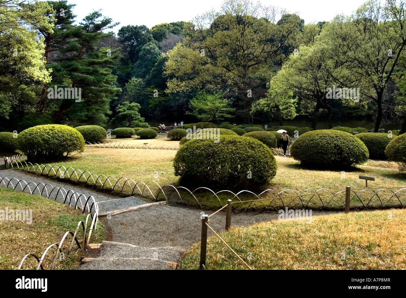 ... Japan Royal Tokyo Meiji Shrine And Inner Garden   Stock Photo