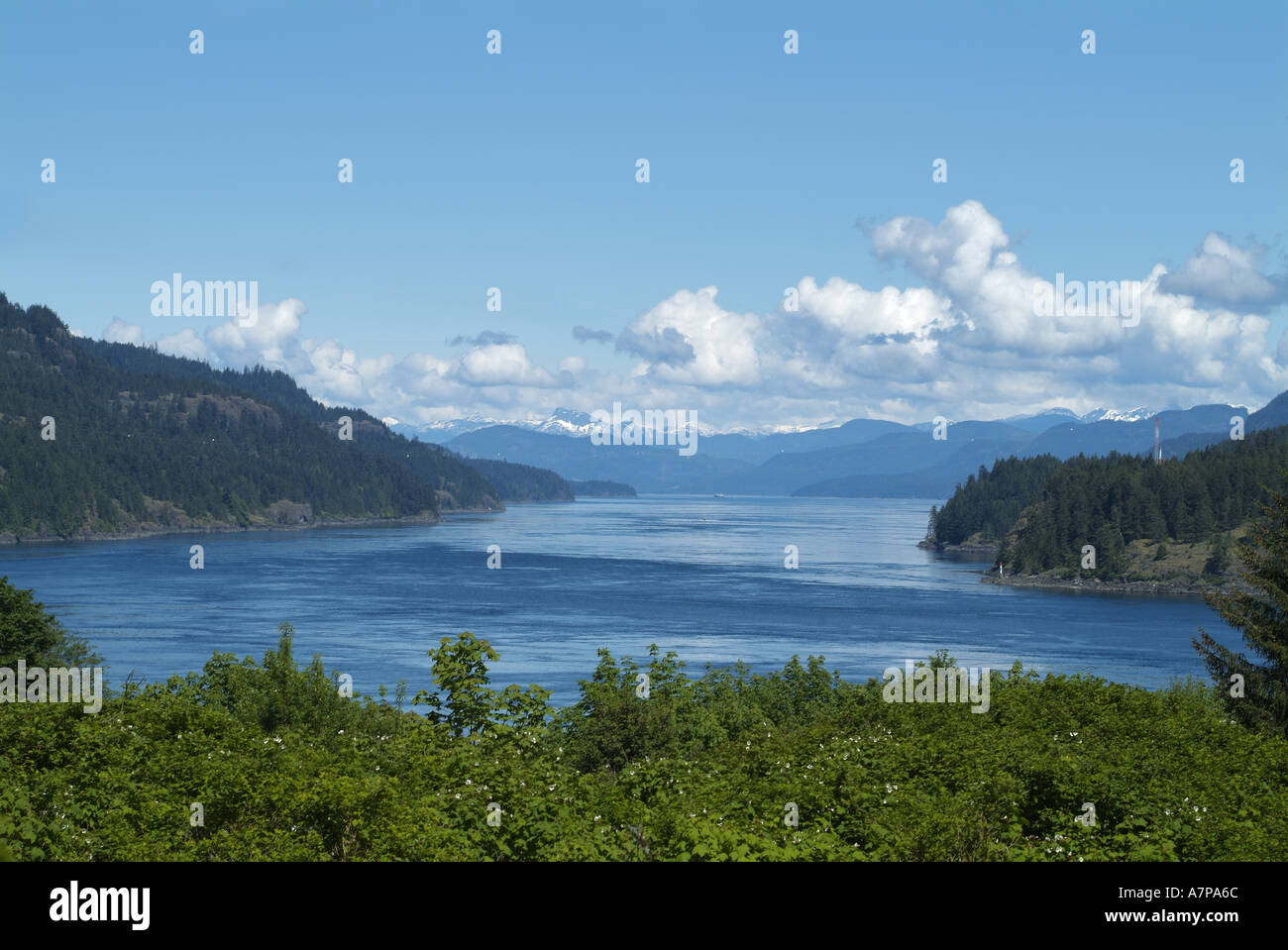 Seymour Narrows Campbell River Vancouver Island British Columbia Canada