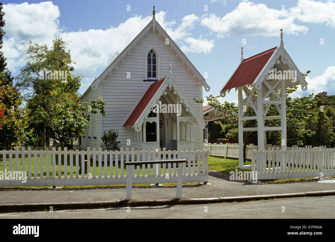 Wooden Churches In New Zealand