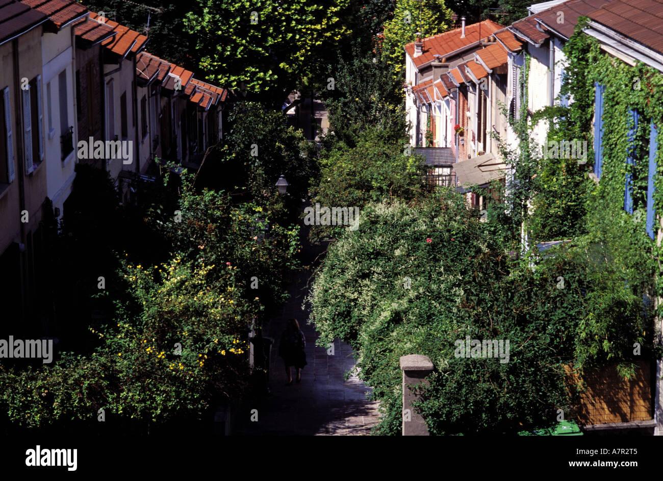 France paris la campagne a paris houses with garden in - La campagne a paris ...