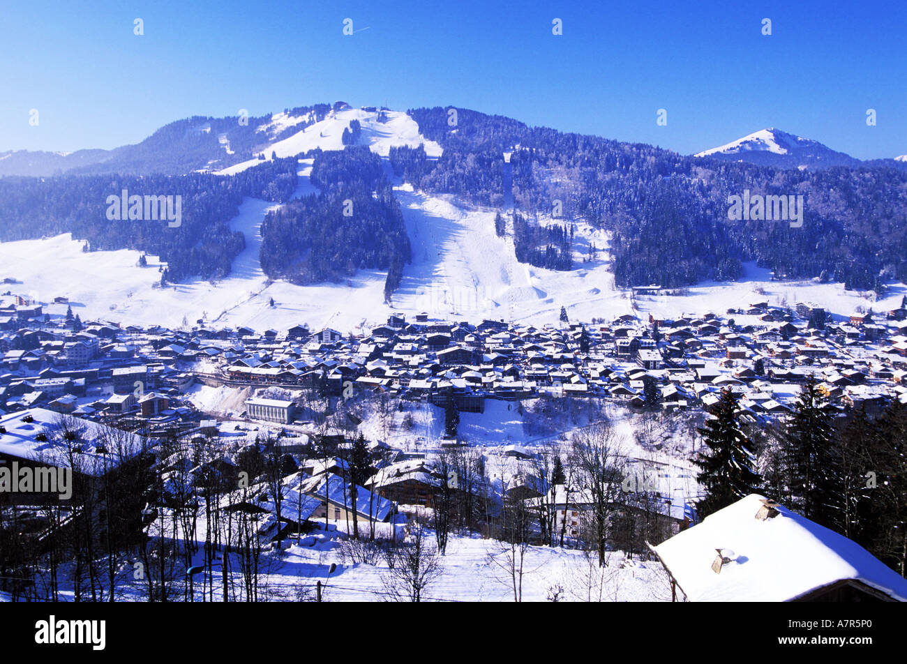 France haute savoie les portes du soleil ski area - Office du tourisme morzine haute savoie ...
