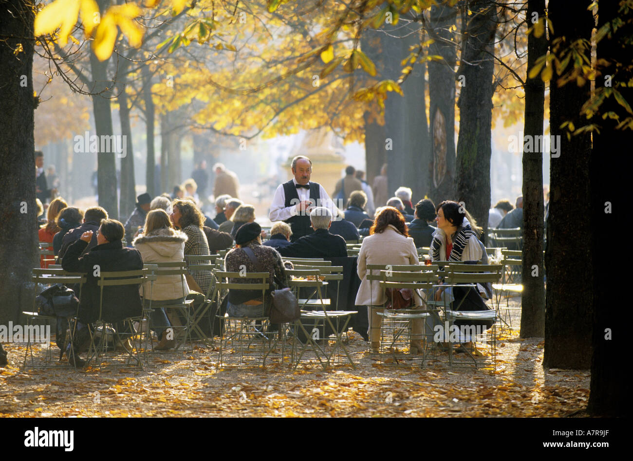 France paris jardin du luxembourg garden of luxembourg for Cafe jardin du luxembourg