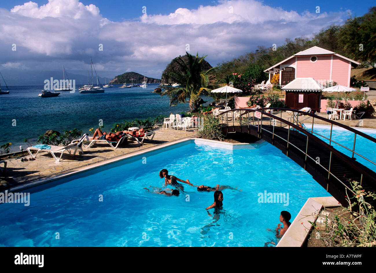 Saint Vincent And The Grenadines Tobago Cays Archipelago Swimming Stock Photo 6807342 Alamy