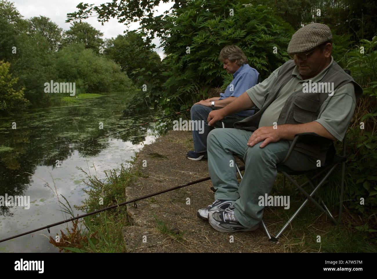 Fishermen fishing the old river lea east london site of for River fishing games