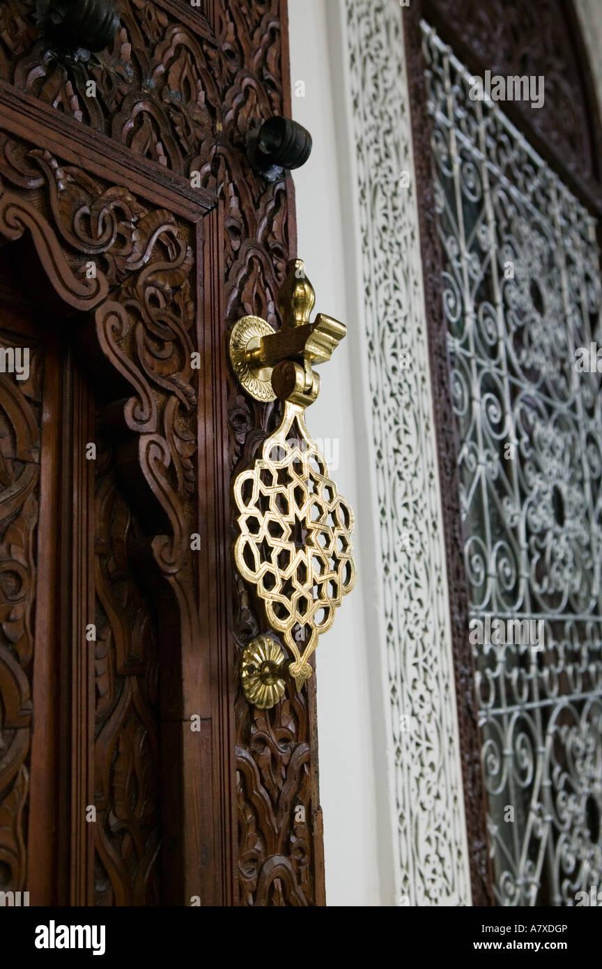 morocco fes fes el bali old fes riad fes traditional hotel interior detail - Traditional Hotel Interior