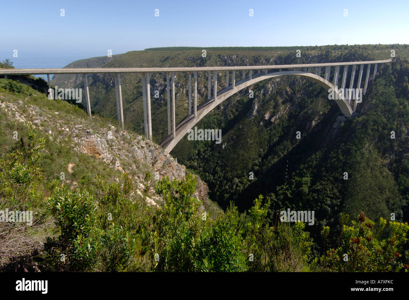 Marvelous The Bloukrans River Bridge Along The Garden Route In South Africa  With Entrancing Stock Photo  The Bloukrans River Bridge Along The Garden Route In South  Africa It Is The Highest Commercial Bungee Jump In The World M With Extraordinary Garden Flowers Ireland Also Garden Of Remembrance In Addition Home And Garden Shows In Texas And What Zone Is Covent Garden As Well As Madison Square Garden Company Additionally What Time Does Covent Garden Close From Alamycom With   Entrancing The Bloukrans River Bridge Along The Garden Route In South Africa  With Extraordinary Stock Photo  The Bloukrans River Bridge Along The Garden Route In South  Africa It Is The Highest Commercial Bungee Jump In The World M And Marvelous Garden Flowers Ireland Also Garden Of Remembrance In Addition Home And Garden Shows In Texas From Alamycom