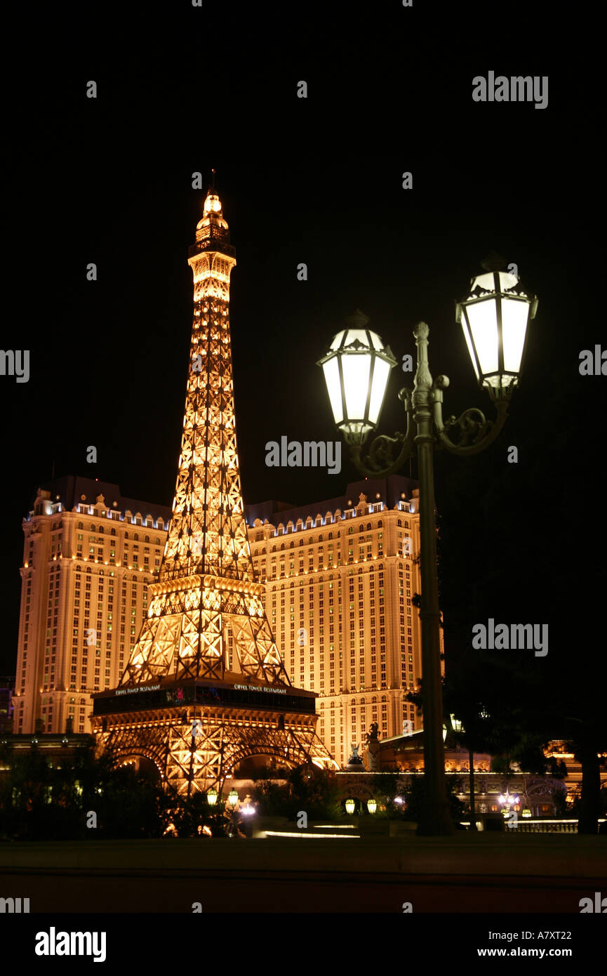Stock Photo Paris Hotel Las Vegasnevadausa 3895329