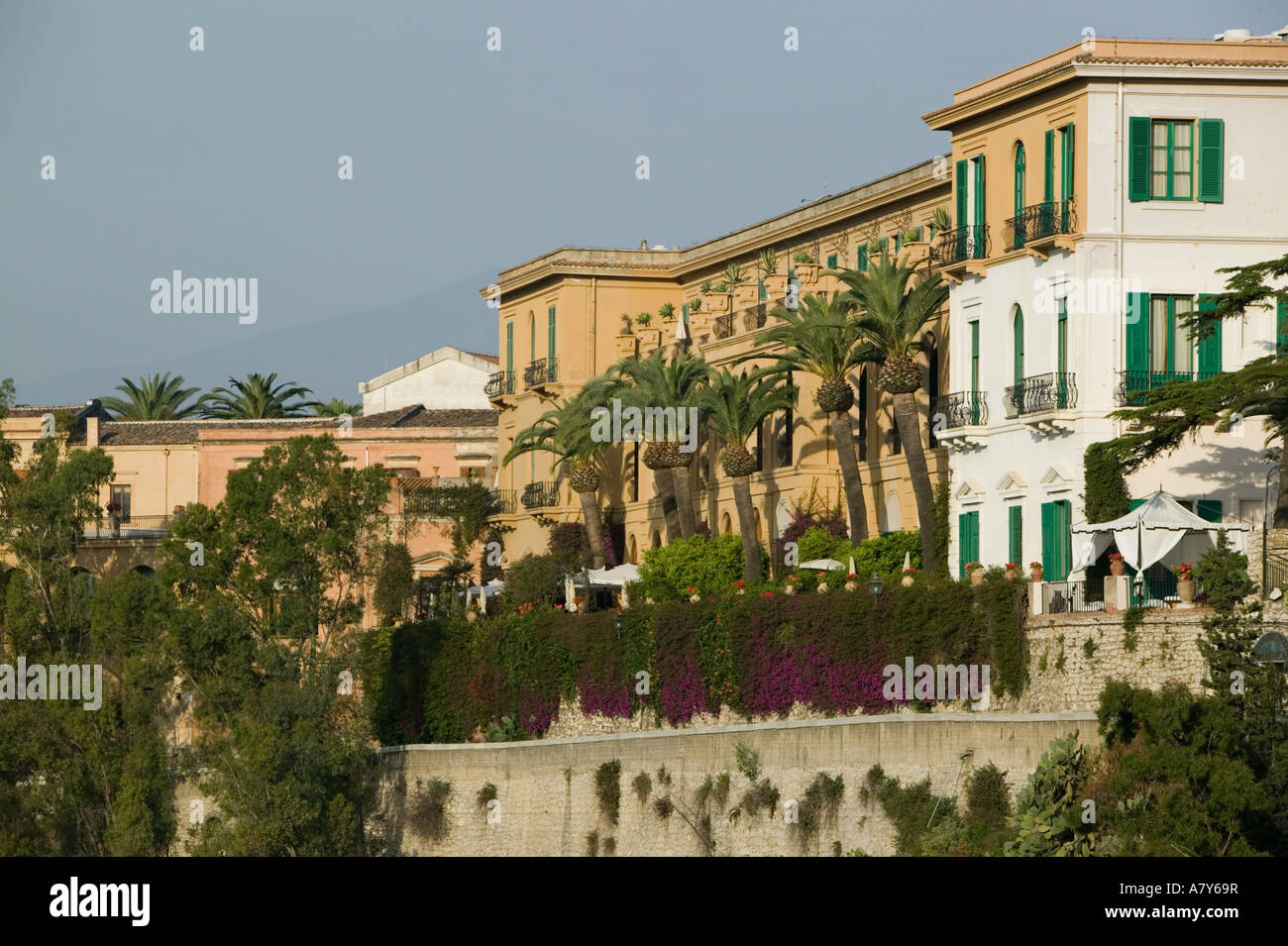 ITALY Sicily TAORMINA San Domenico Palace Hotel Oldest Most Famous Monastery In Italy Exterior View