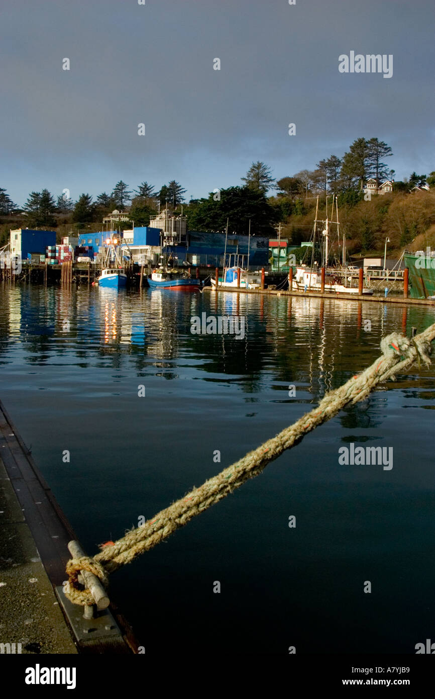 Fishing boats in newport oregon stock photo royalty free for Newport oregon fishing