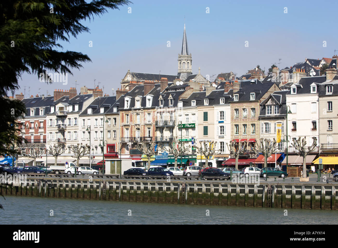 Trouville sur mer and river touques normandy france - Office de tourisme trouville sur mer ...