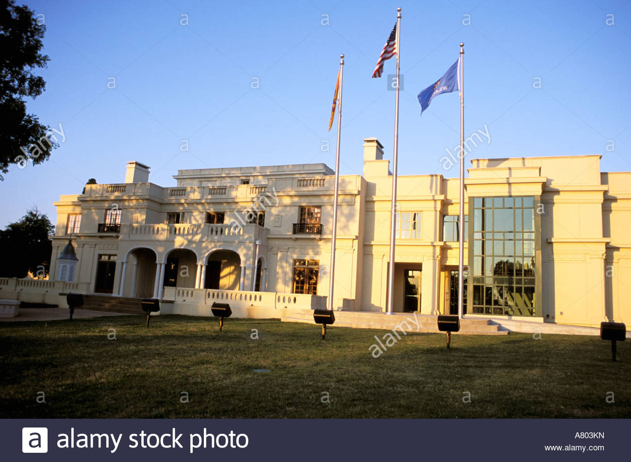 North America, USA, Oklahoma, Tulsa. Tulsa Garden Center Mansion.