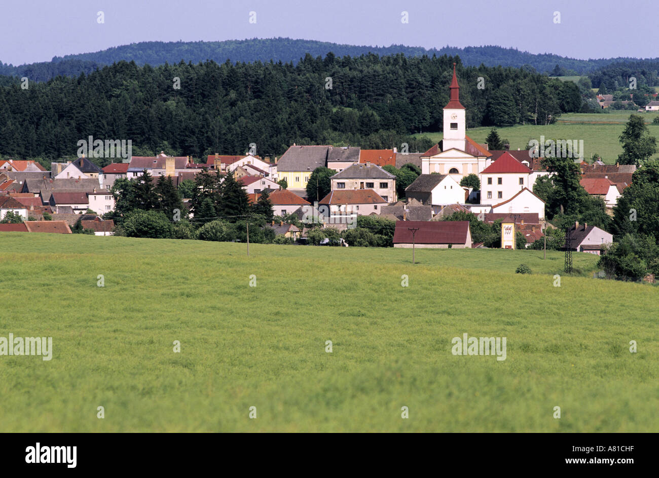 Czech republic bohemia countryside village of strmilov near czech republic bohemia countryside village of strmilov near jindrichuv hradec sciox Image collections