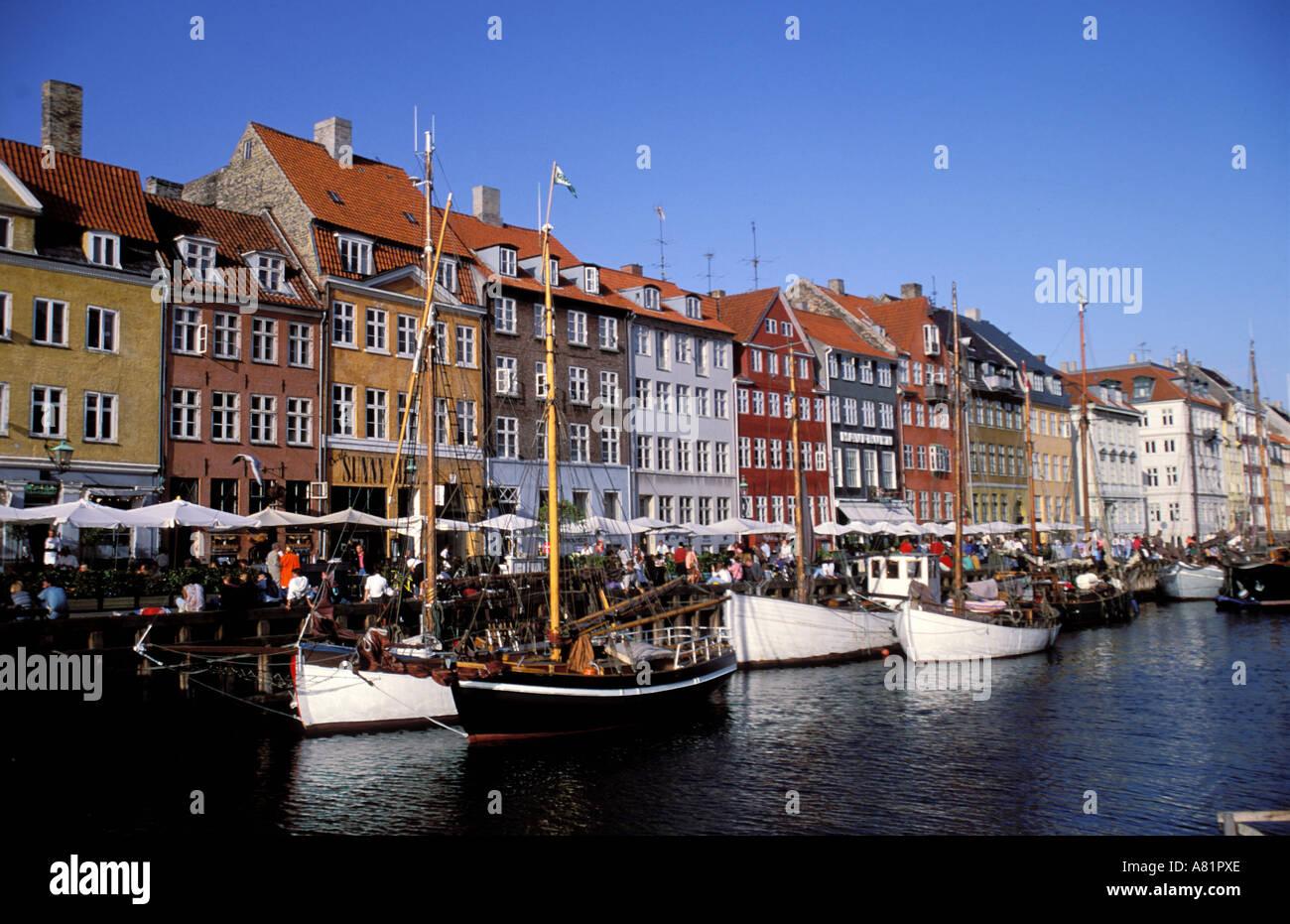 Denmark Sjaelland Island Copenhagen City Tivoli Park Stock Photo ...