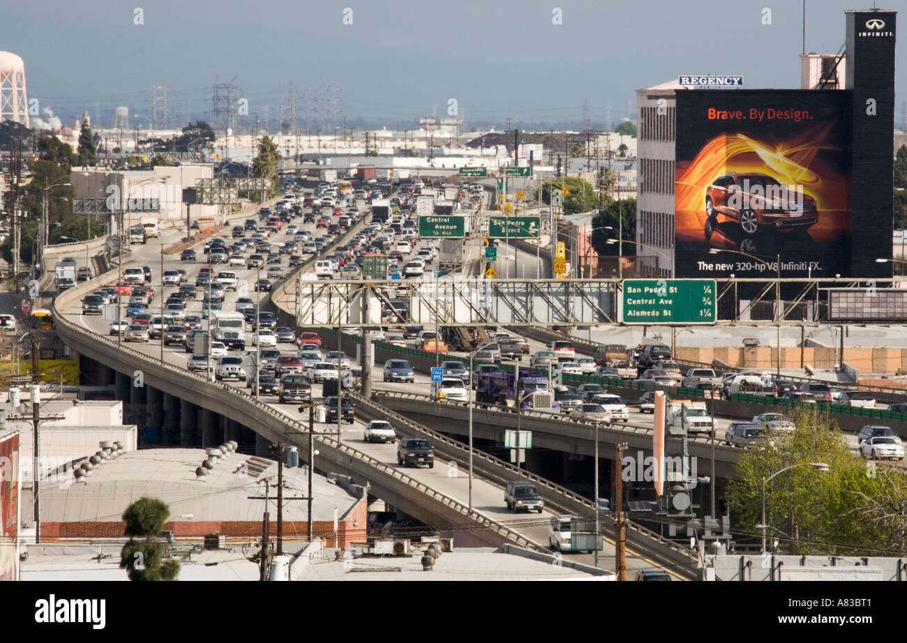 The 10 freeway near downtown los angeles san bernardino freeway the 10 freeway near downtown los angeles san bernardino freeway los angeles california united states of america sciox Choice Image