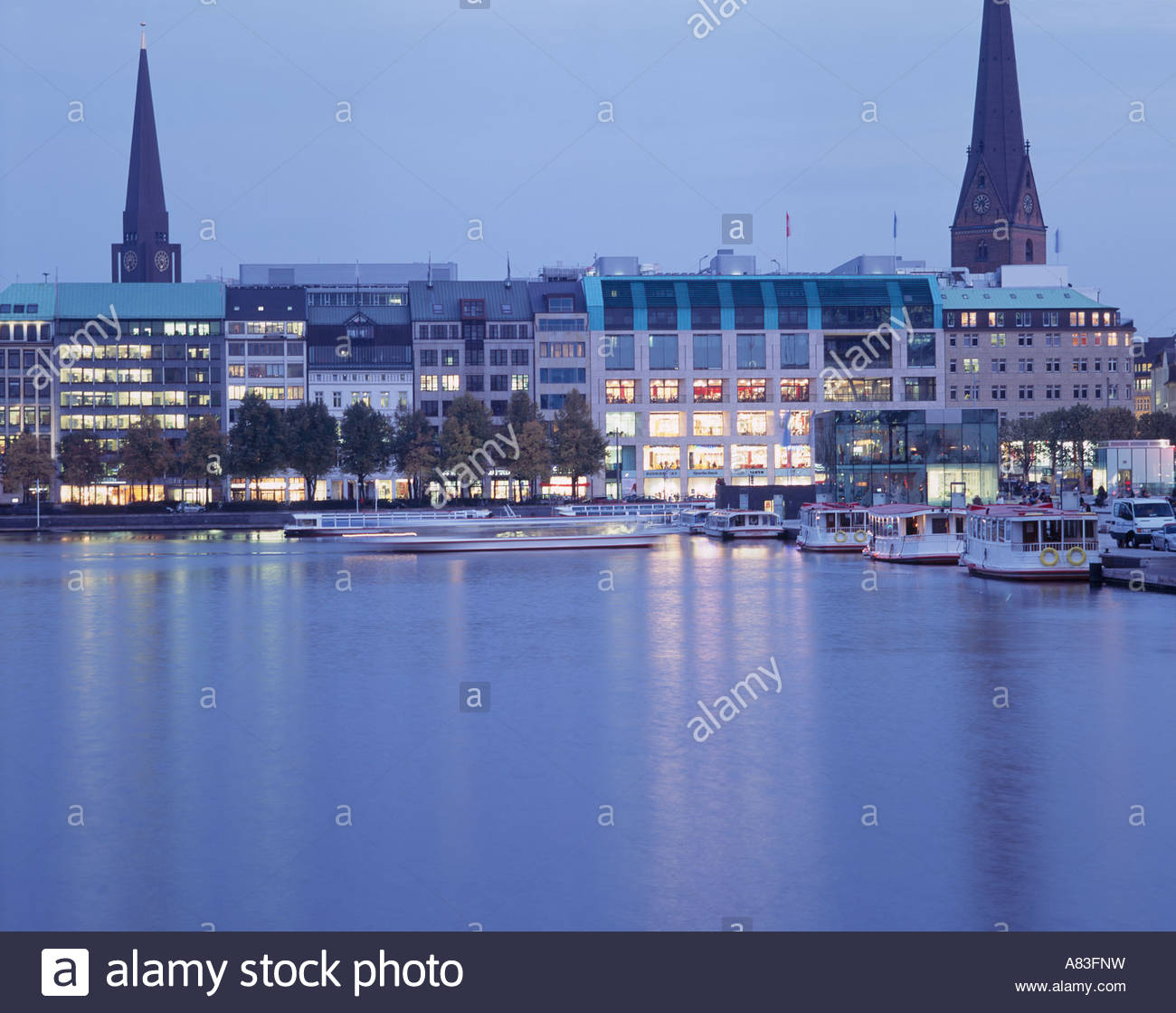 shopping in hamburg the shopping mall europa passage and the stock photo royalty free image. Black Bedroom Furniture Sets. Home Design Ideas