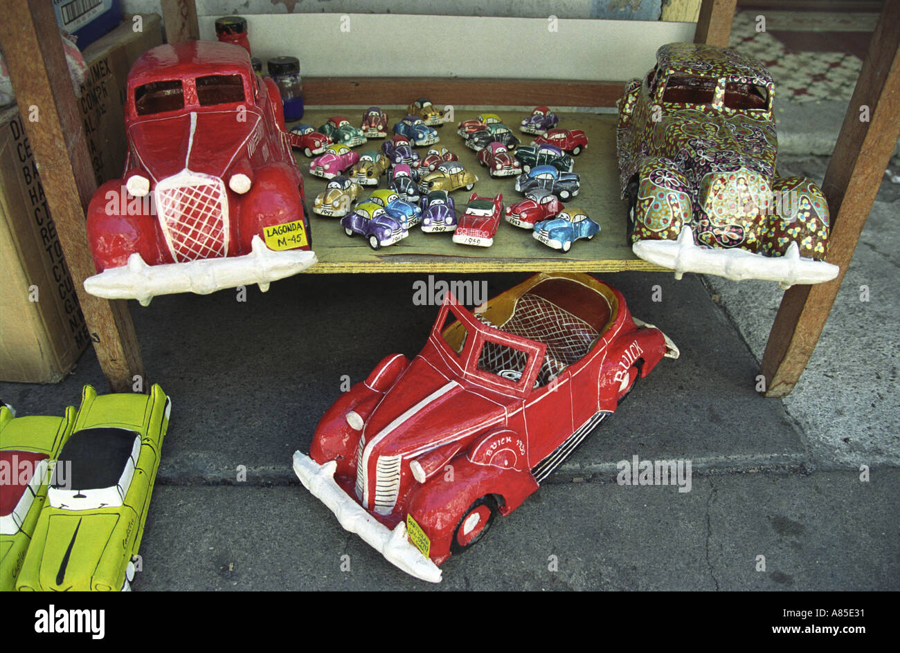 Papier Mache models of old classic 1950 s american cars for sale ...