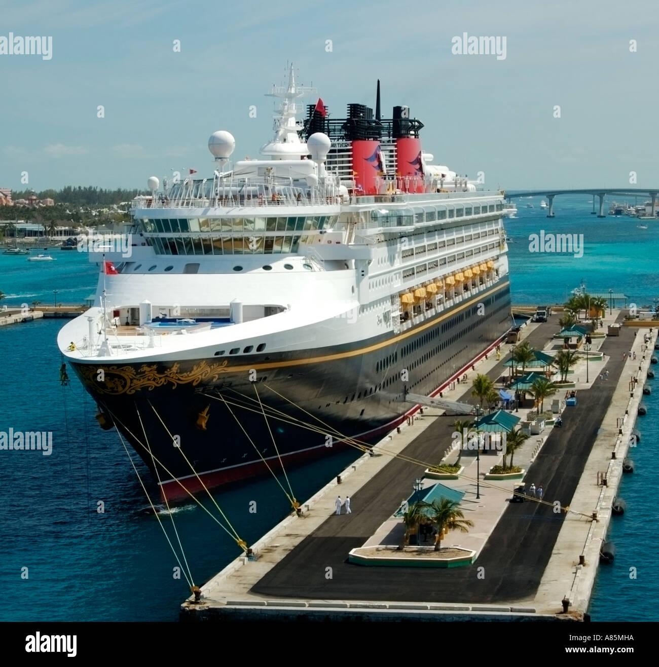 Cruise Ship At Port Nassau Bahamas Stock Photo Royalty Free Image - Cruise ships to the bahamas