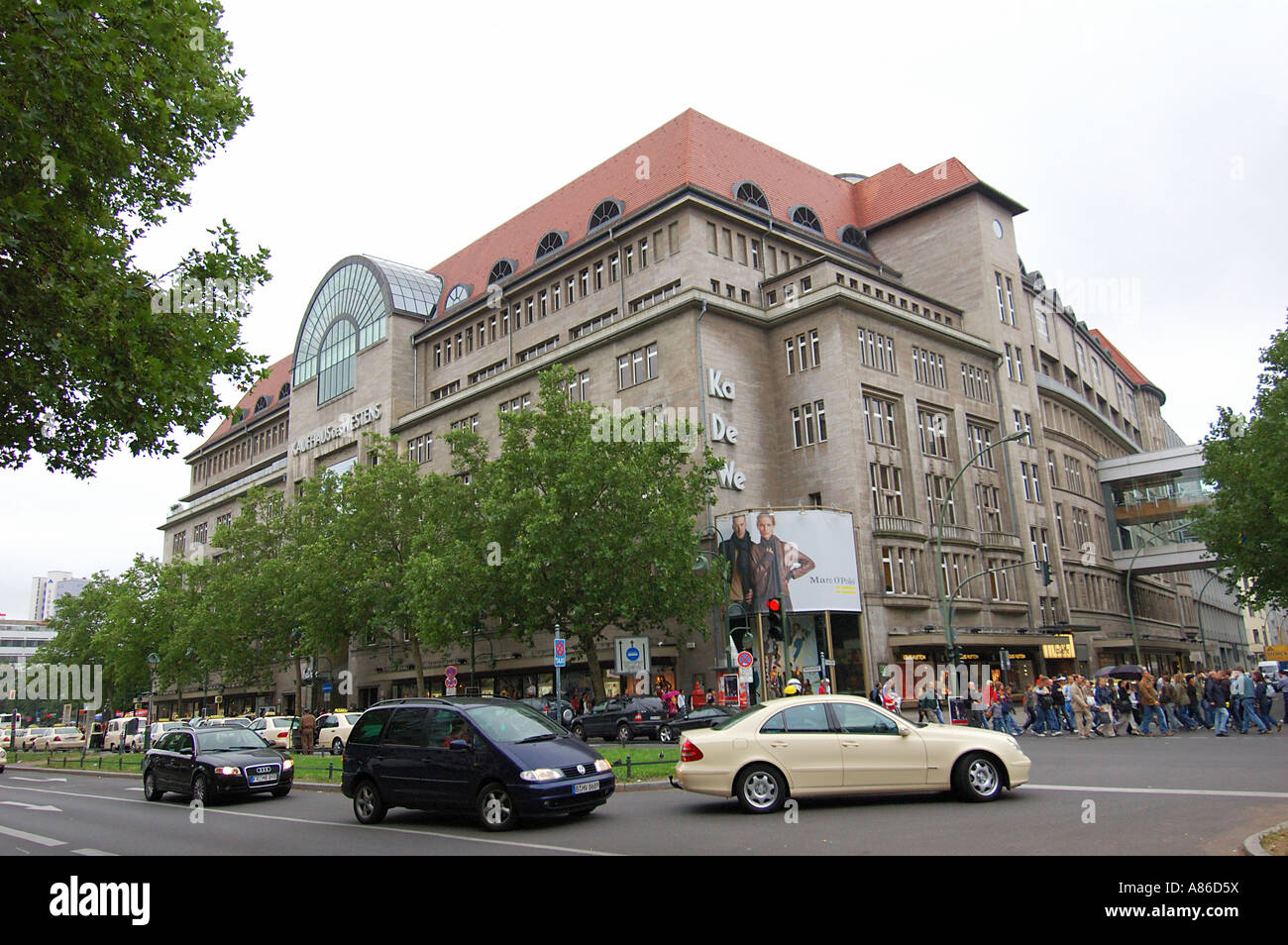 kadewe department store berlin germany stock photo royalty free image 12002773 alamy. Black Bedroom Furniture Sets. Home Design Ideas
