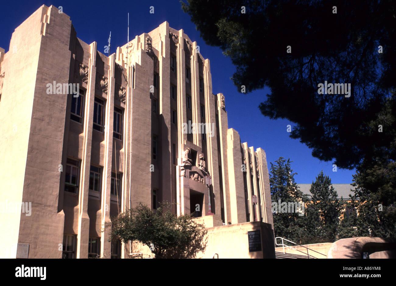 Arizona cochise county cochise - Stock Photo United States Usa Arizona Cochise County Bisbee Townhall Jugendstill