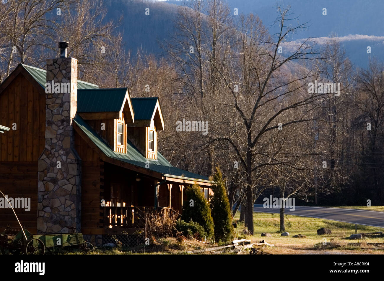 Cabin In Cosby Tennessee Overlooked By The Great Smoky Mountains National  Park