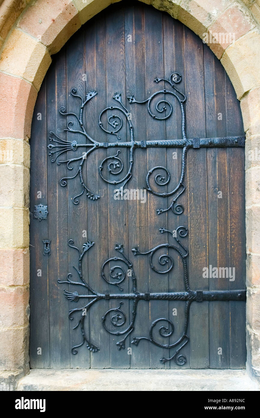 Stock Photo - Wrought Iron Hinges On A Medieval Door At Bolton Abbey Wharfedale Yorkshire Dales National Park England UK & Bolton Doors u0026 Windows And Doors Bolton D50 On Amazing Inspiration ... pezcame.com