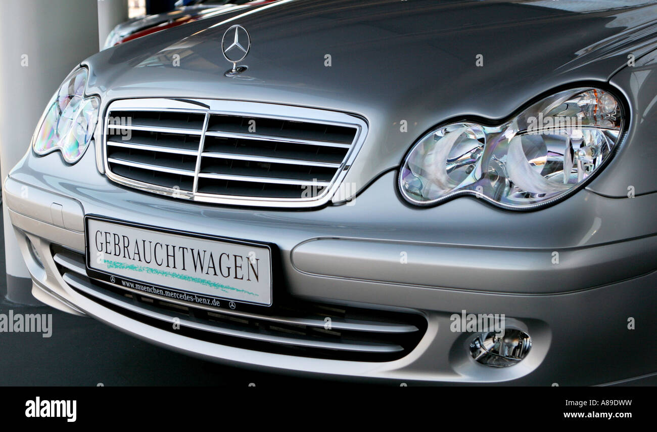 used mercedes benz daimler chrysler munich bavaria