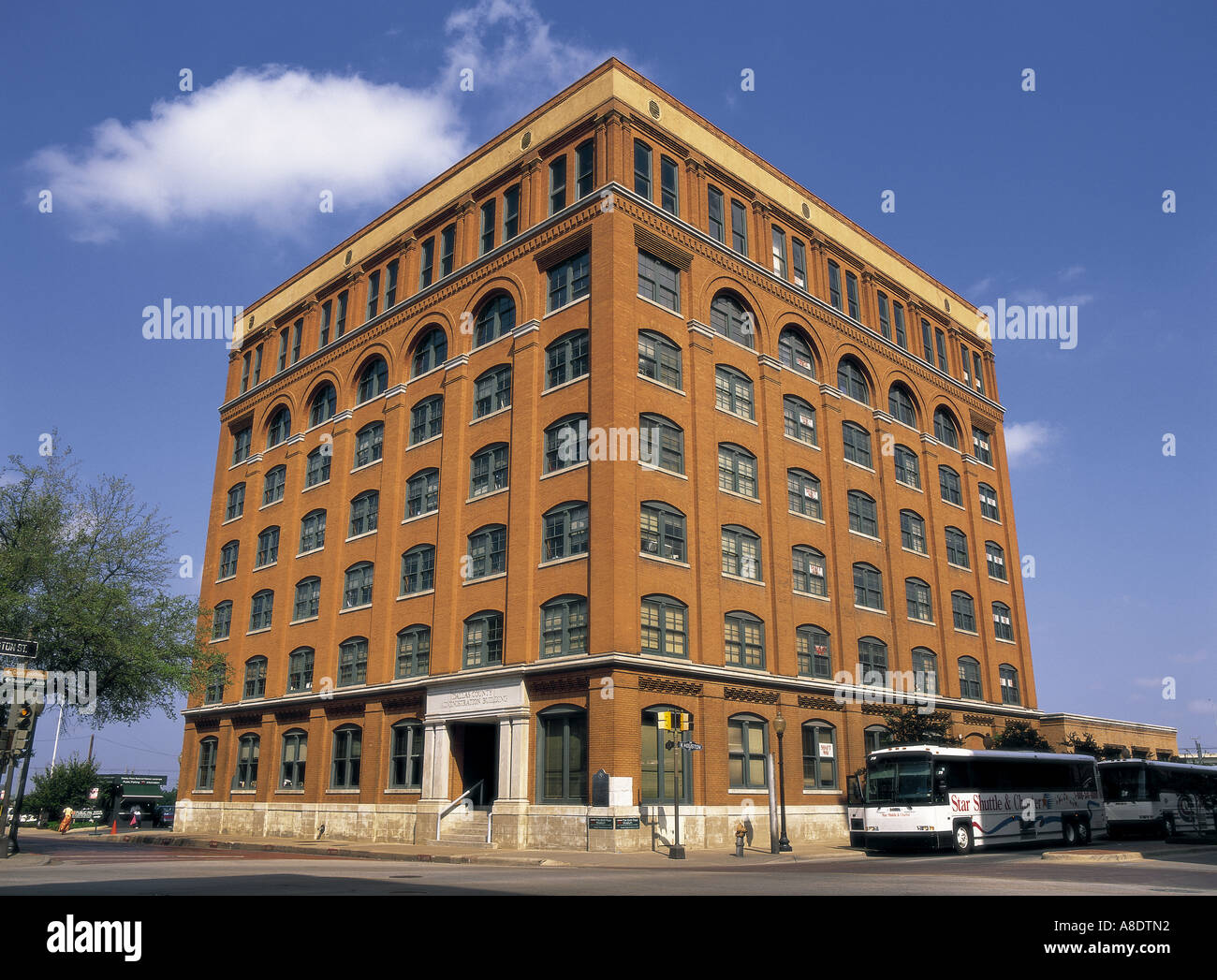 Stock Photo   The Sixth Floor Museum At Dealey Plaza Dallas, Texas USA