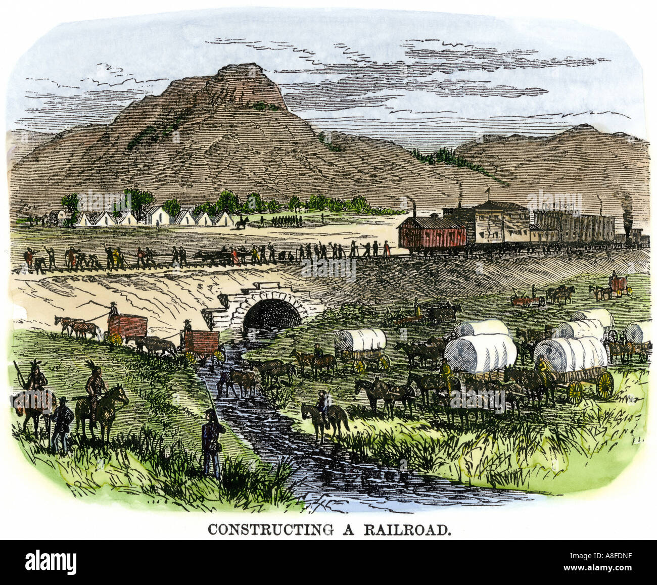 transcontinental railroad A railroad linking america's east and west coasts had been a dream almost since  the  although everyone thought a transcontinental railroad was a good idea,.