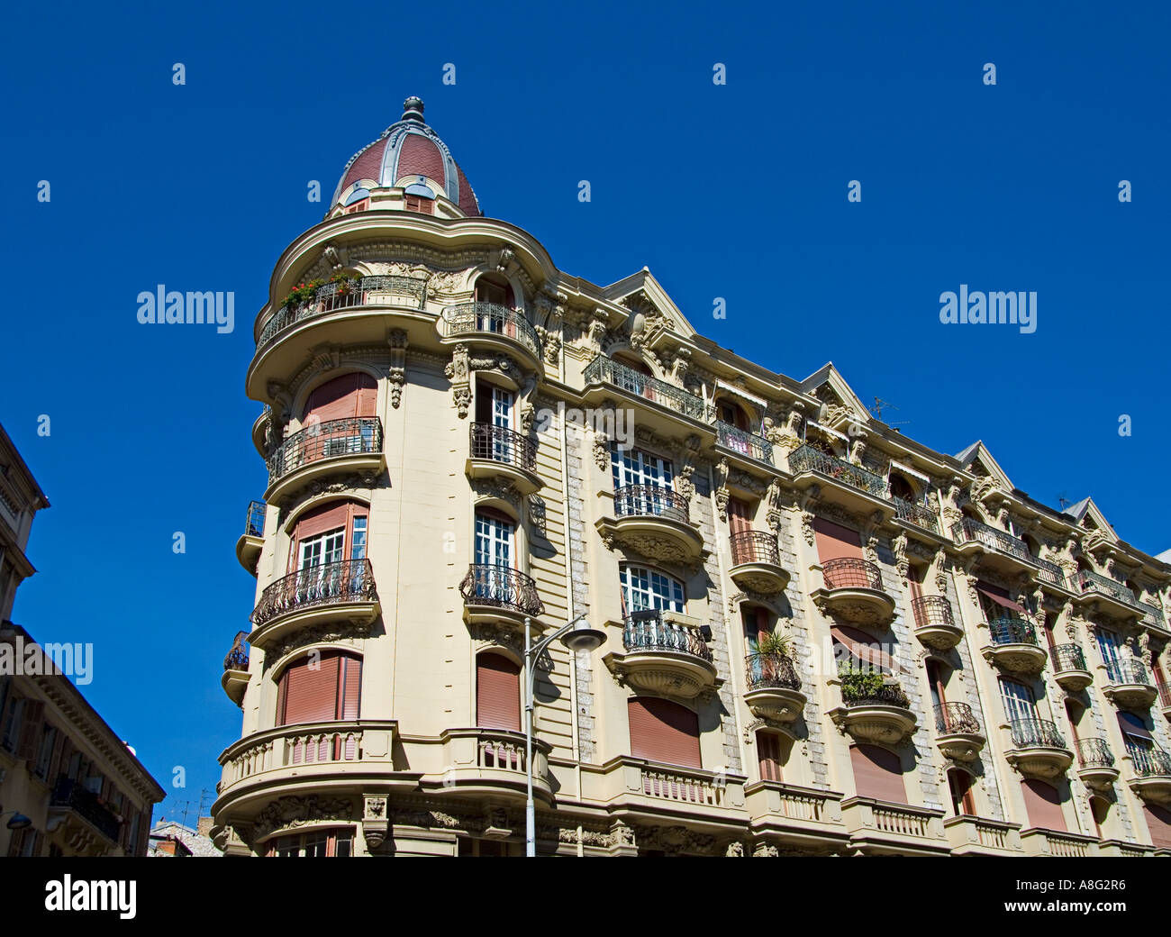 Nice Apartment Building a belle epoque style apartment building in nice on the cote d'azur