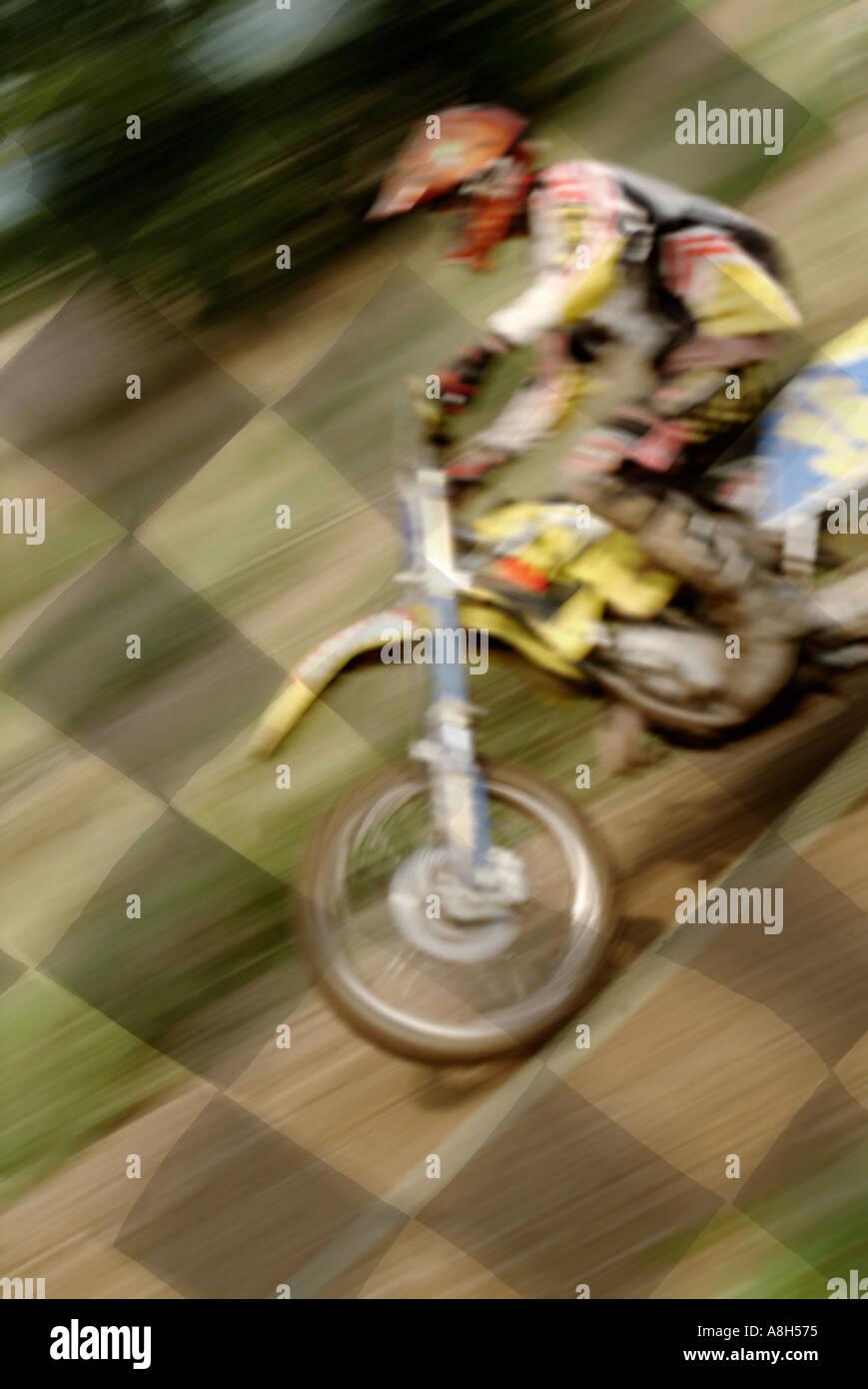 Motor Cross X Moto Dirt Bike Scramble Risk Extreme Win Lose Loser