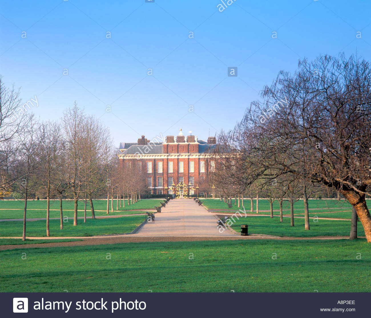 Diana Princess Of Wales Home In Regents Park London UK England