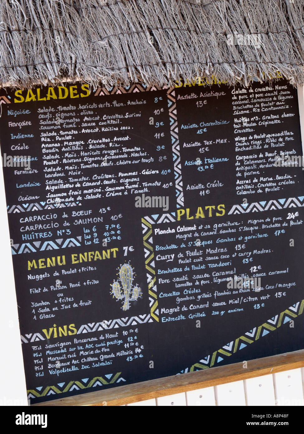 Smak Food Menu