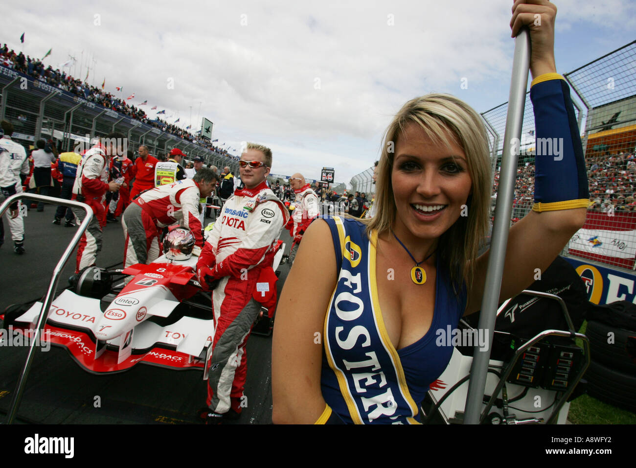 Formula 1 grid girls formula 1 start line stock photos for Bedroom kandi nashville