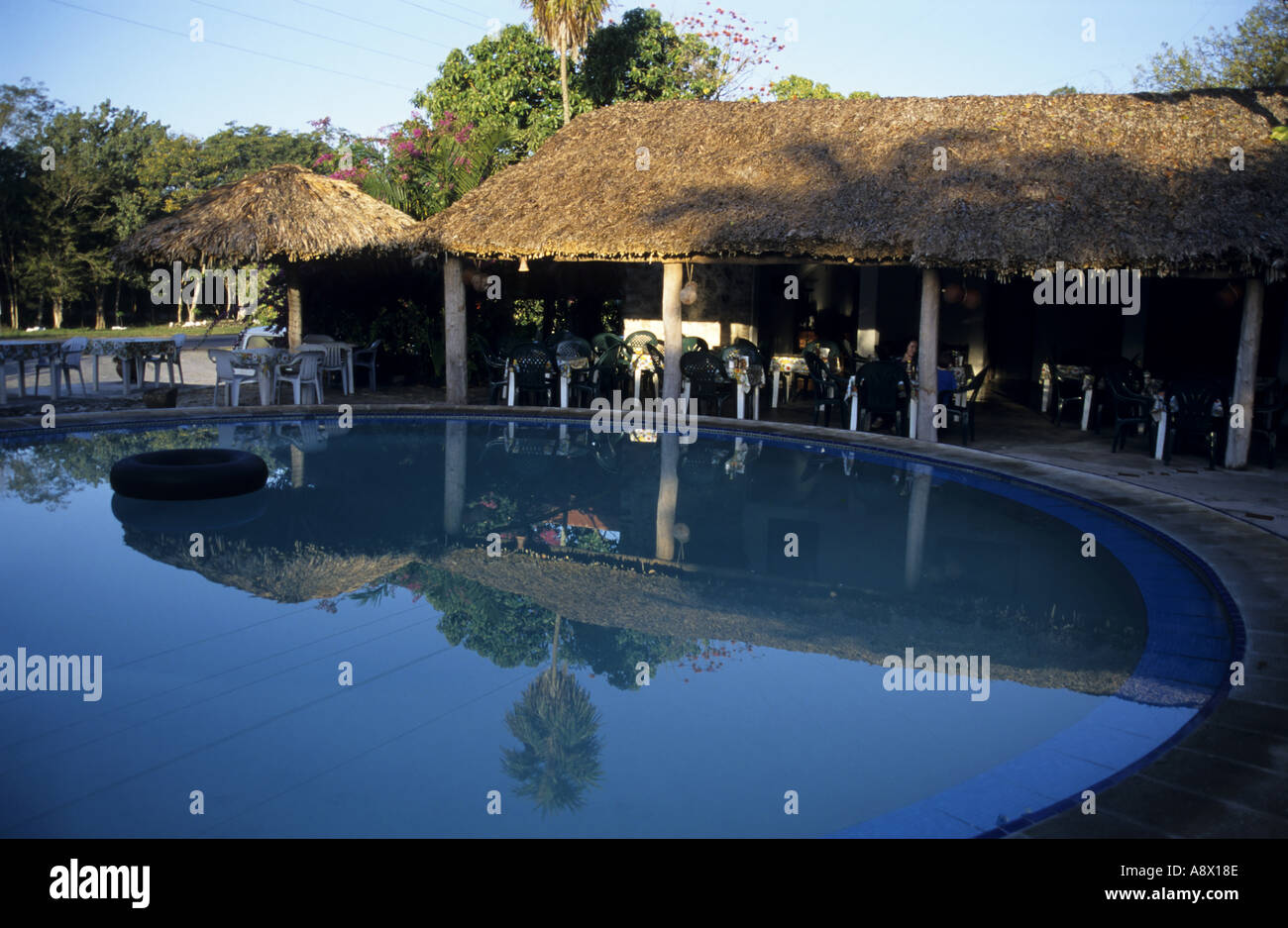 Mexico yucatan state chichen itza restaurant and swimming Chichen itza mexico natural swimming pool