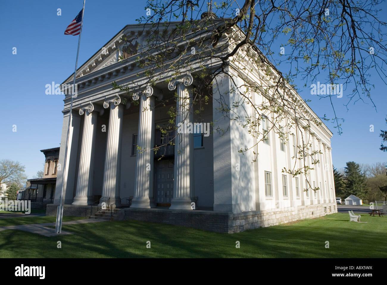 New york montgomery county fonda - Montgomery County Courthouse Fonda New York Mohawk Valley