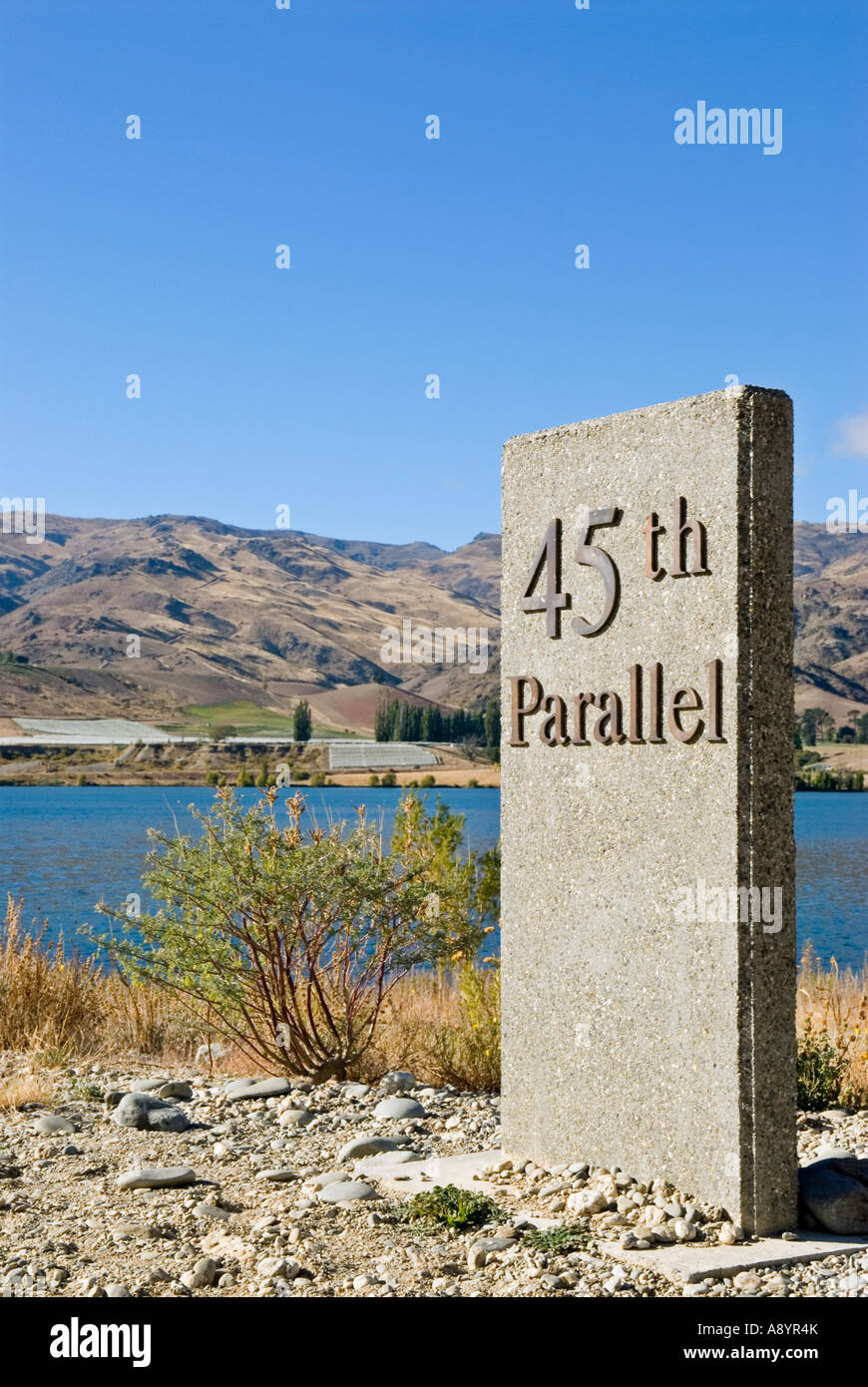 Th Parallel Stock Photos Th Parallel Stock Images Alamy - 45th parallel map us