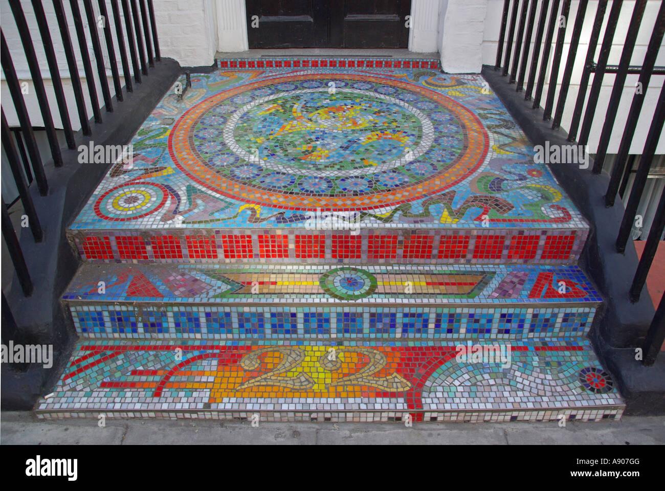Front Door Step mosaic pavement front door step & entrance doorway bridging