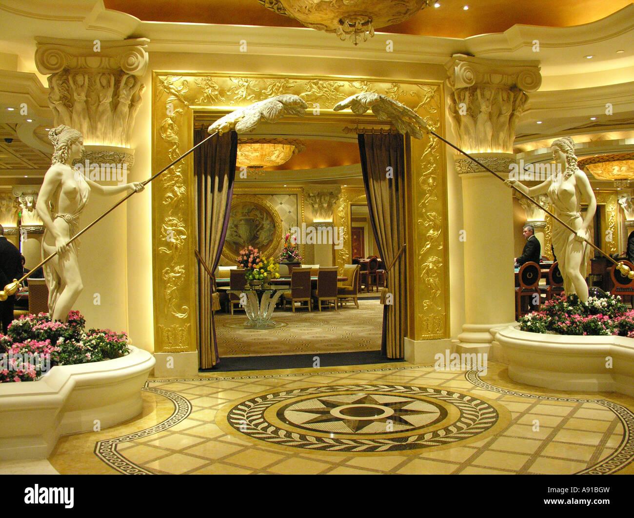 roman style ornate interior decor Stock Photo Royalty Free Image