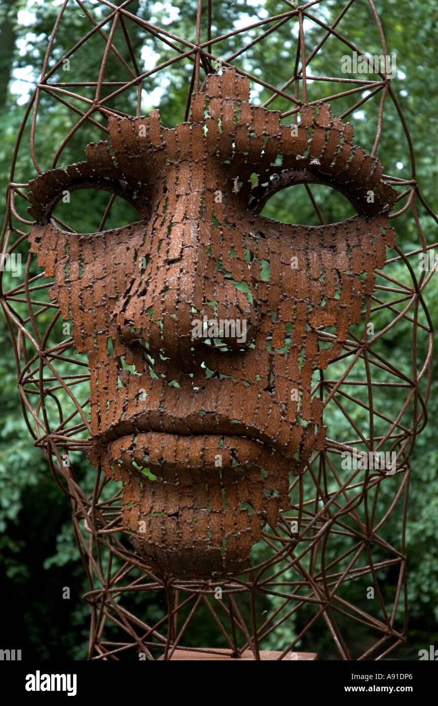 Sculpture Garden. Face
