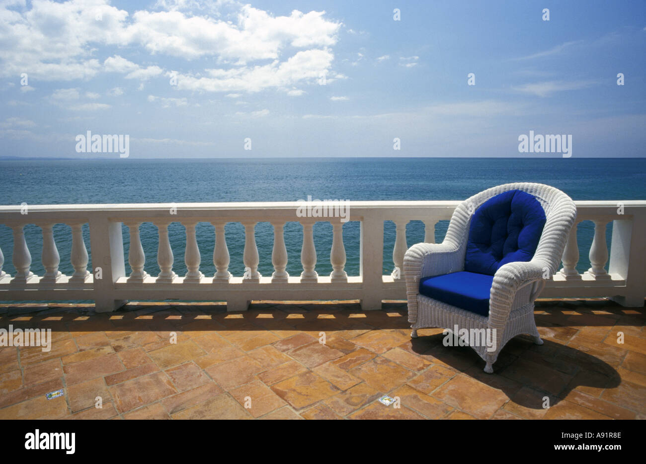 Puerto Rico Wicker Chair And Tiled Terrace At The Hornet Dorset  # Muebles Rattan Puerto Rico
