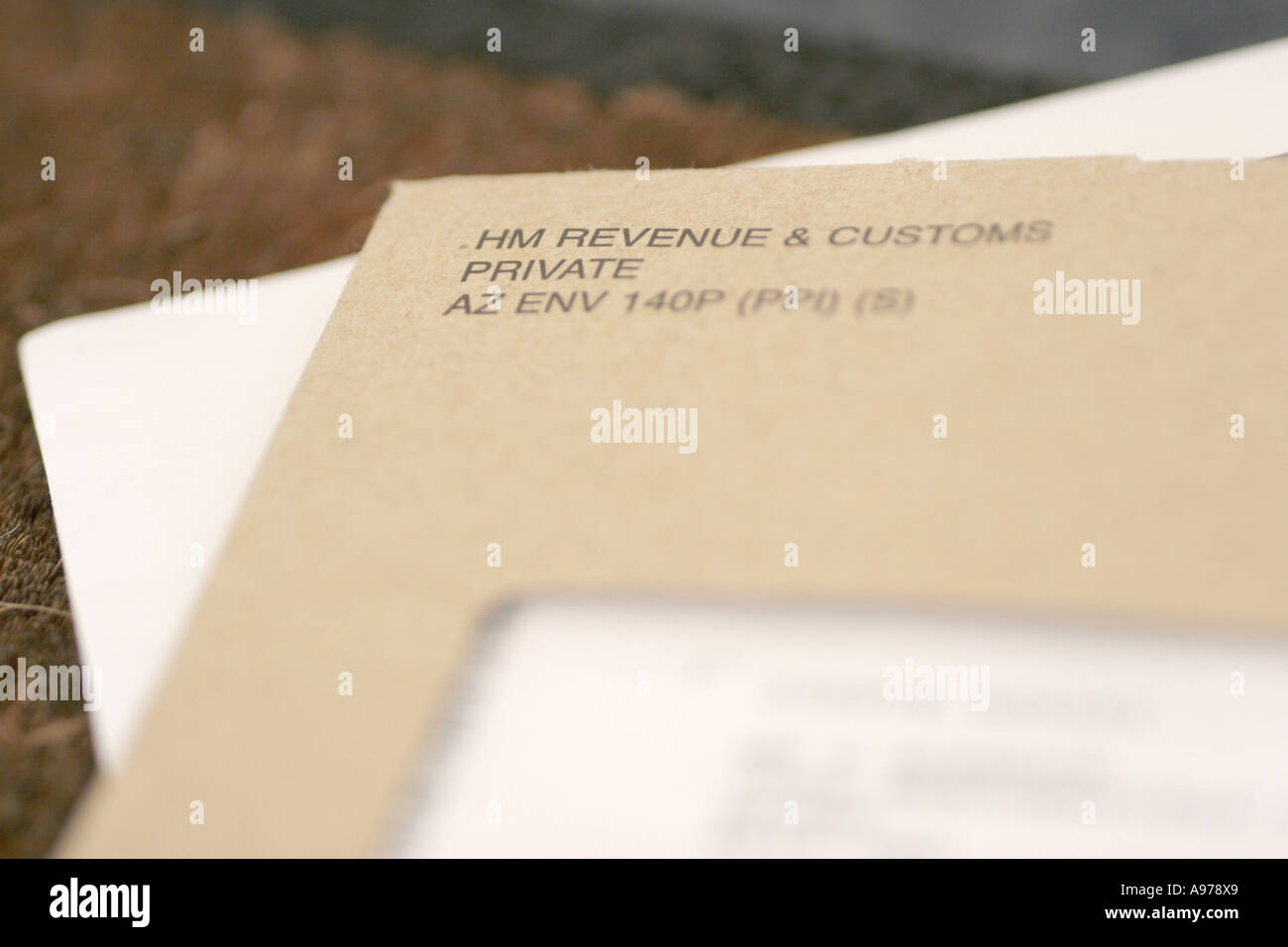 Letter from hm revenue and customs stock photo royalty - Hm revenue and customs office address ...