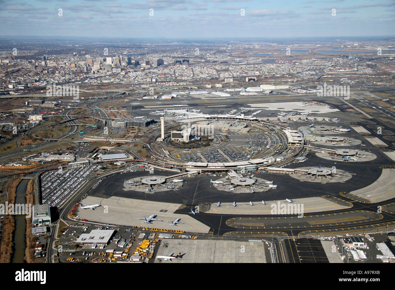 newark airport Opening its doors in 1928, newark airport is the nation's oldest airfield and home to the first us commercial airline terminal today, newark liberty international airport serves just over 35 million passengers a year.