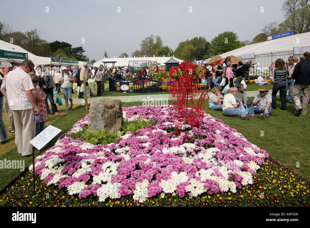 Royal horticultural society spring flower show bute park cardiff stock photo royalty free image - Royal flower show ...