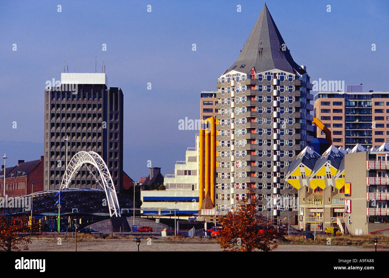 Modern Architecture Netherlands modern architecture in rotterdam the netherlands the center right