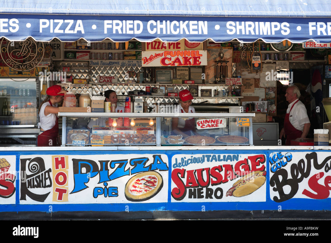 New York Famous Food Cart