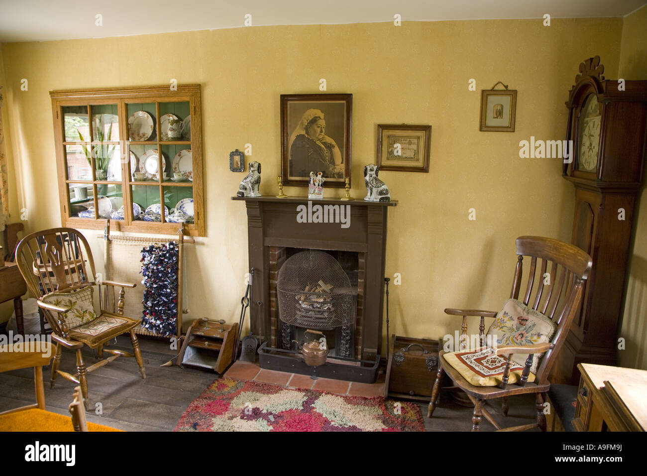 Victorian Farmhouse Living Room Stock Photo Royalty Free